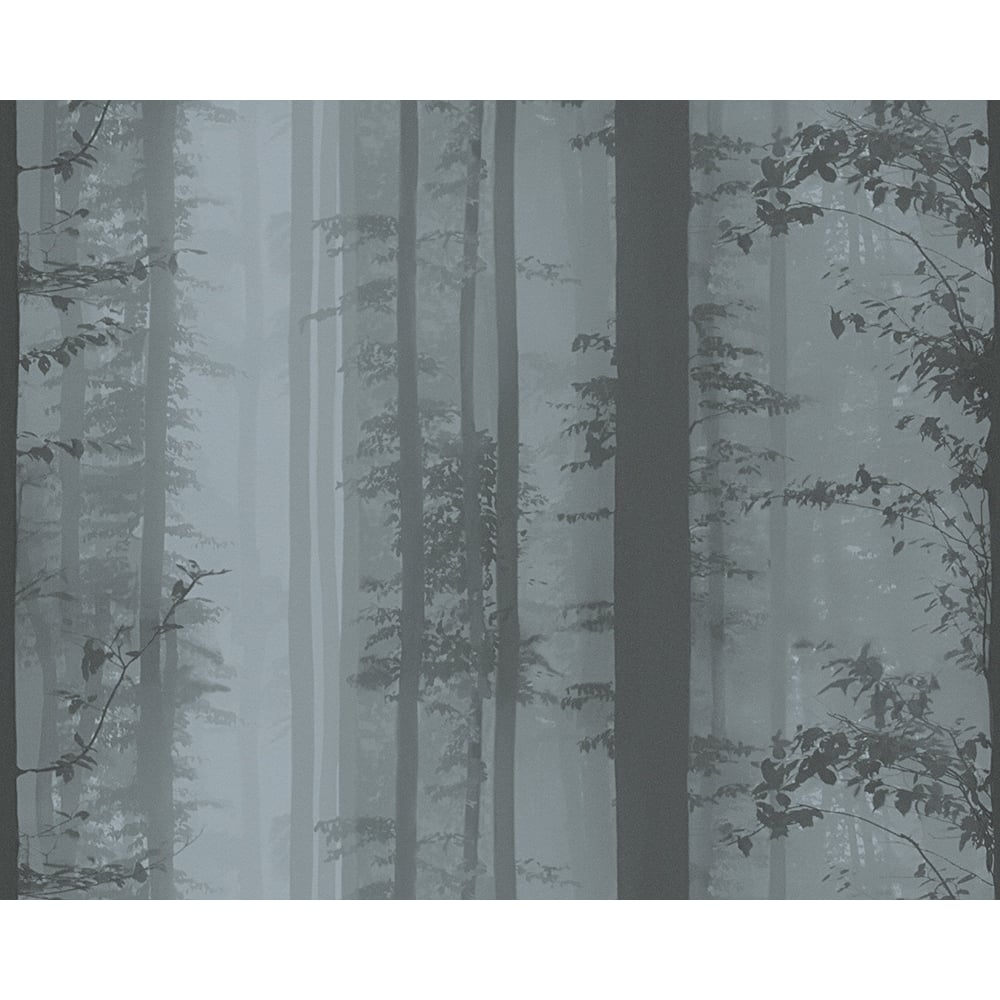 As Creation Forest Trees Pattern Wallpaper Woodland Photo Non Woven 300601