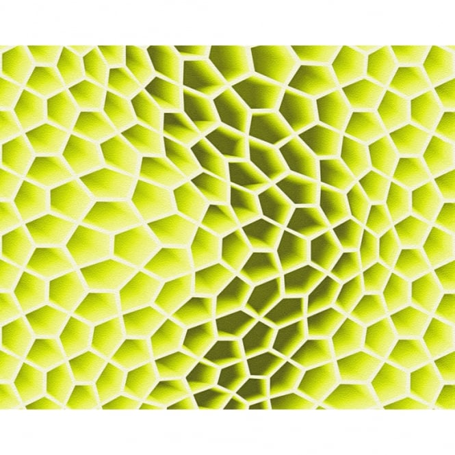 A.S. Creation AS Creation Geometric Honeycomb Pattern Wallpaper Abstract 3D Textured 327091