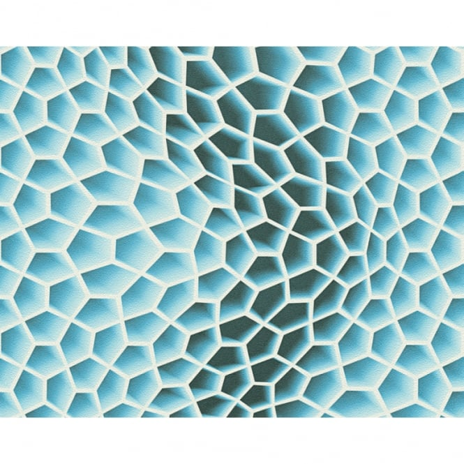 A.S. Creation AS Creation Geometric Honeycomb Pattern Wallpaper Abstract 3D Textured 327092