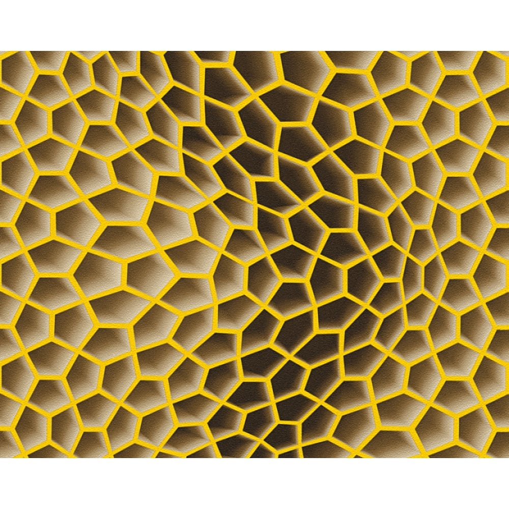 AS Creation Geometric Honeycomb Pattern Wallpaper Abstract 3D Textured 327095