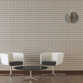AS Creation Geometric Square Pattern Wallpaper Abstract Triangle 3D Effect 327087