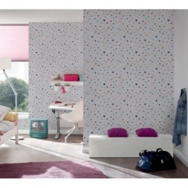 AS Creation Oilily Spots Dots Pattern Paint Circles Motif Textured Wallpaper 961232