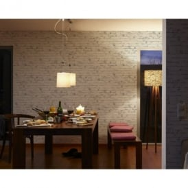 AS Creation Painted Brick Wall Stone Faux Effect Embossed Mural Wallpaper 907837