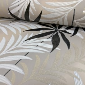 AS Creation Palm Leaf Pattern Wallpaper Glitter Motif Modern Embossed Textured 324721