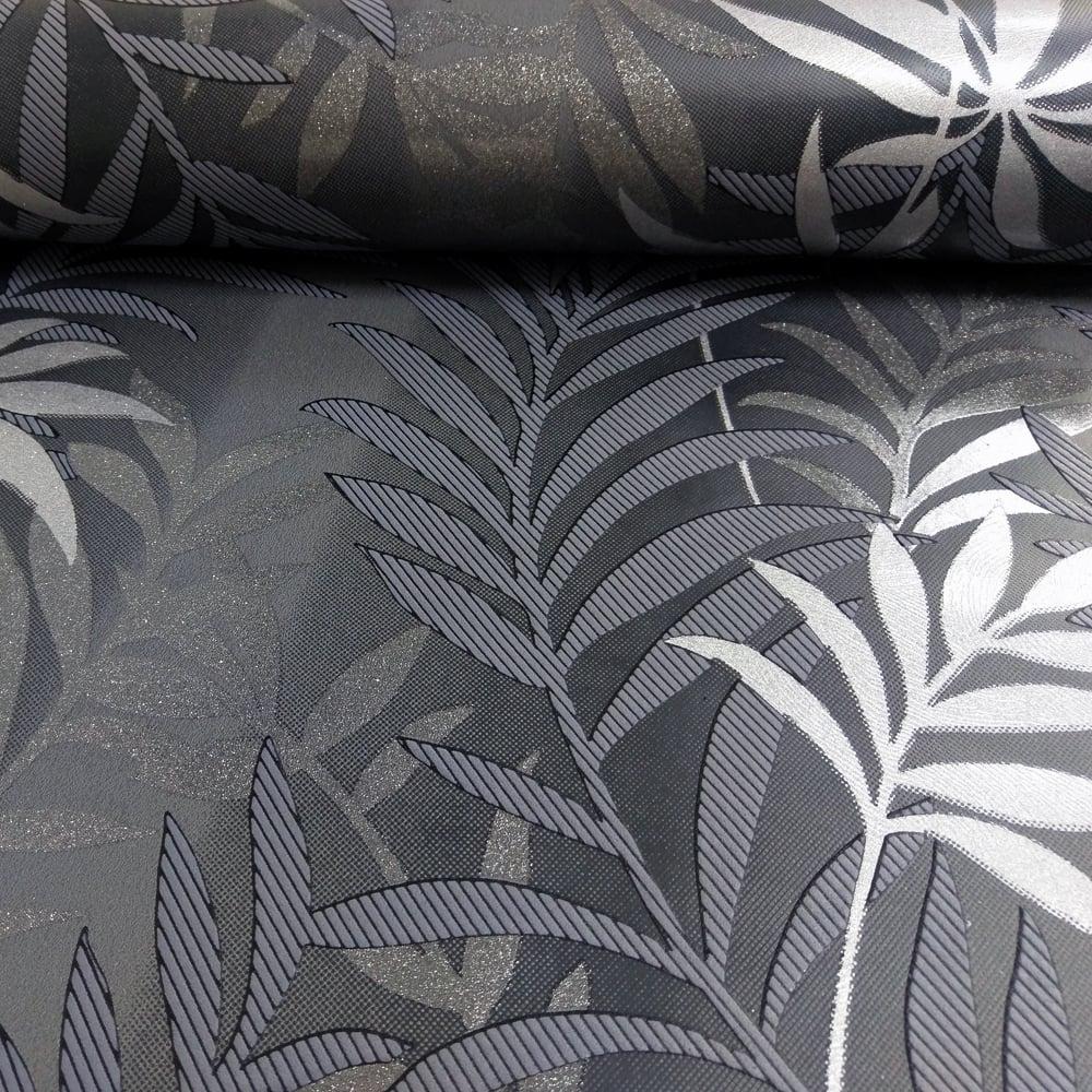 AS Creation Palm Leaf Pattern Wallpaper Glitter Motif Modern Embossed Textured 324722