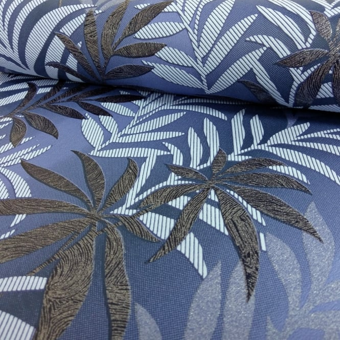 A.S. Creation AS Creation Palm Leaf Pattern Wallpaper Glitter Motif Modern Embossed Textured 324724