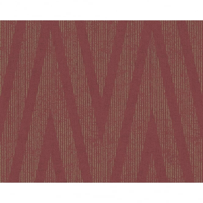 A.S. Creation AS Creation Plain Textured Pattern Wallpaper Modern Metallic Stripe Motif 306455