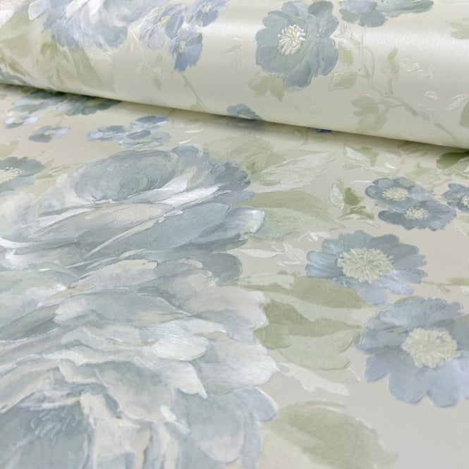 A.S. Creation AS Creation Romantica Floral Leaf Pattern Wallpaper Traditional Flower 304272