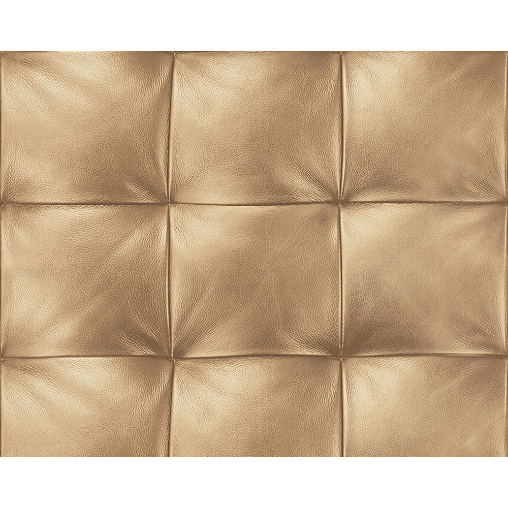 AS Creation Square Pattern Faux Leather Effect Non Woven ...