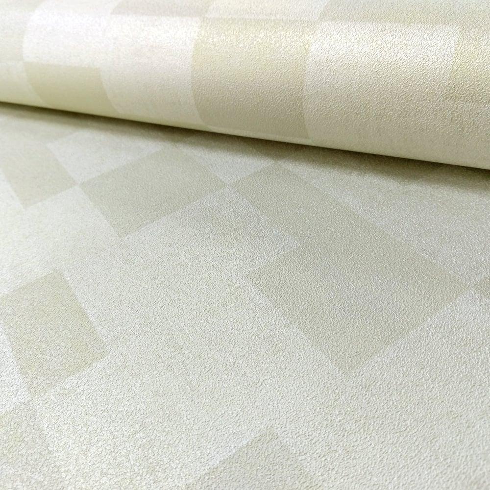 AS Creation Square Pattern Wallpaper Textured Modern Metallic Motif 305273