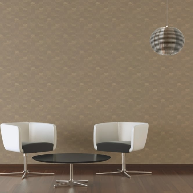 A.S. Creation AS Creation Square Pattern Wallpaper Textured Modern Metallic Motif 305274