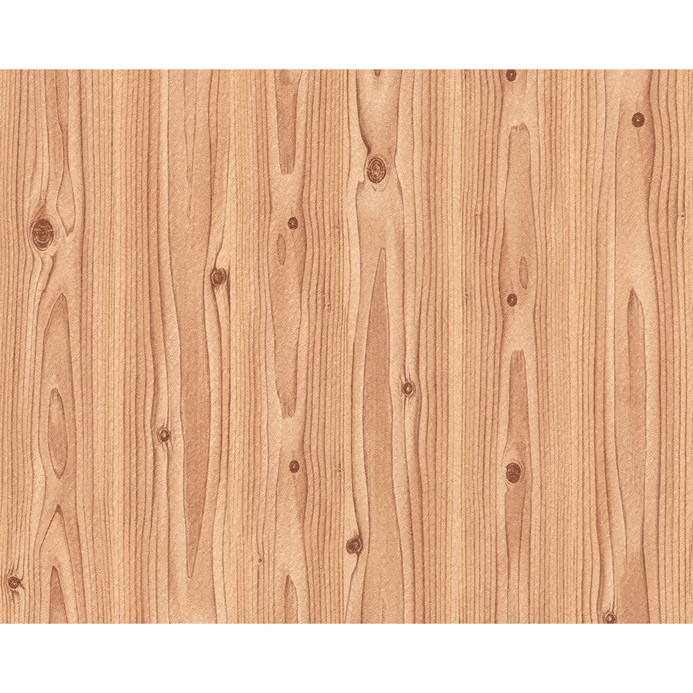 As Creation Wood Effect Pattern Pine Oak Embossed Mural Wallpaper