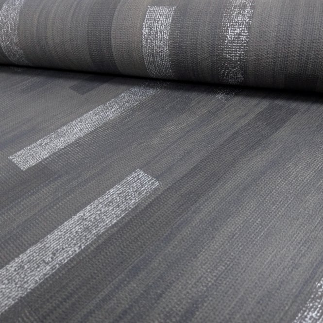 A.S. Creation AS Creation Wood Panel Stripe Pattern Wallpaper Realistic Modern Metallic Motif 306422
