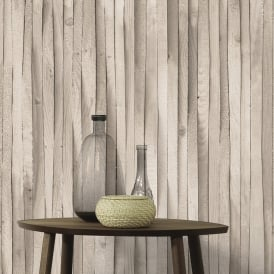 AS Creation Wooden Beam Pattern Wallpaper Wood Faux Effect Textured 307481
