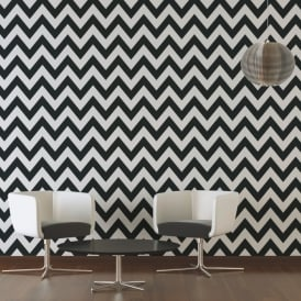 AS Creation Zig Zag Stripe Pattern Wallpaper Non Woven Embossed 939431