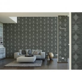 A.S. Creation Hollywood Indulgence Circle Motif Designer Wallpaper 954183