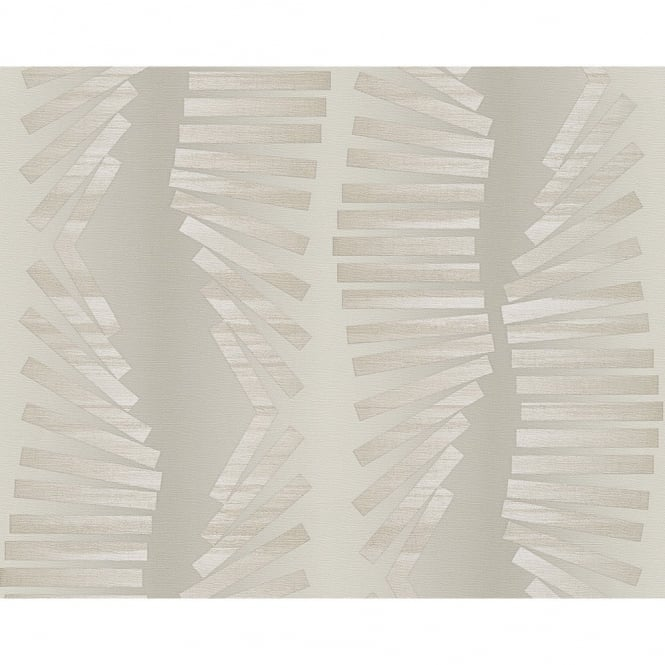 A.S. Creation Hollywood Indulgence Striped Bars Textured Designer Wallpaper 954152