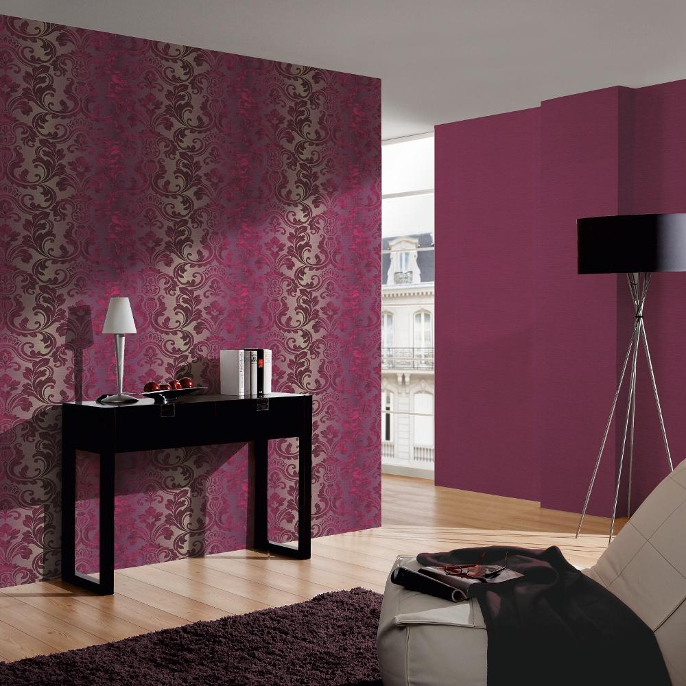 A.S. Creation Indulgence Damask Classic Pattern Motif Textured Wallpaper  954171