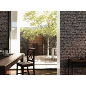 A.S. Creation Wood N Stone Rural Brick Natural Stone Photo Wallpaper 907929