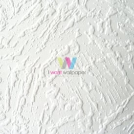 Anaglypta Artisan Plaster Embossed Textured Blown Vinyl Paintable Wallpaper RD7150