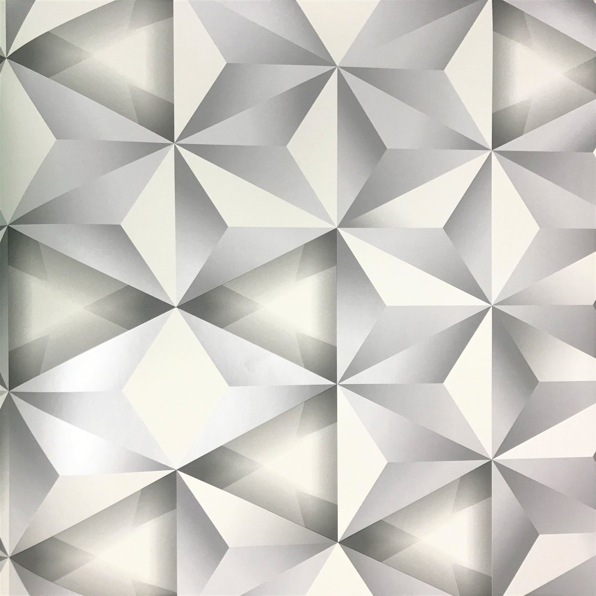 Arthouse 3d Effect Triangle Smooth Geometric Statement Wallpaper 902905