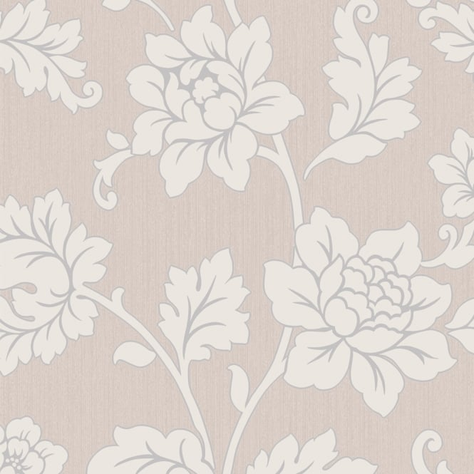 Arthouse Anya Rose Flower Pattern Wallpaper Embossed Floral Glitter Motif 886100