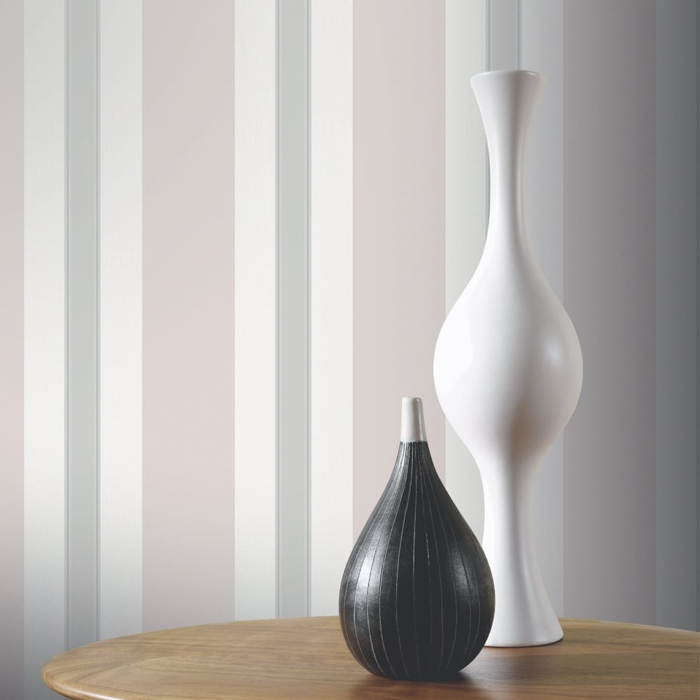 Arthouse anya stripe pattern wallpaper modern embossed for Modern wallpaper uk