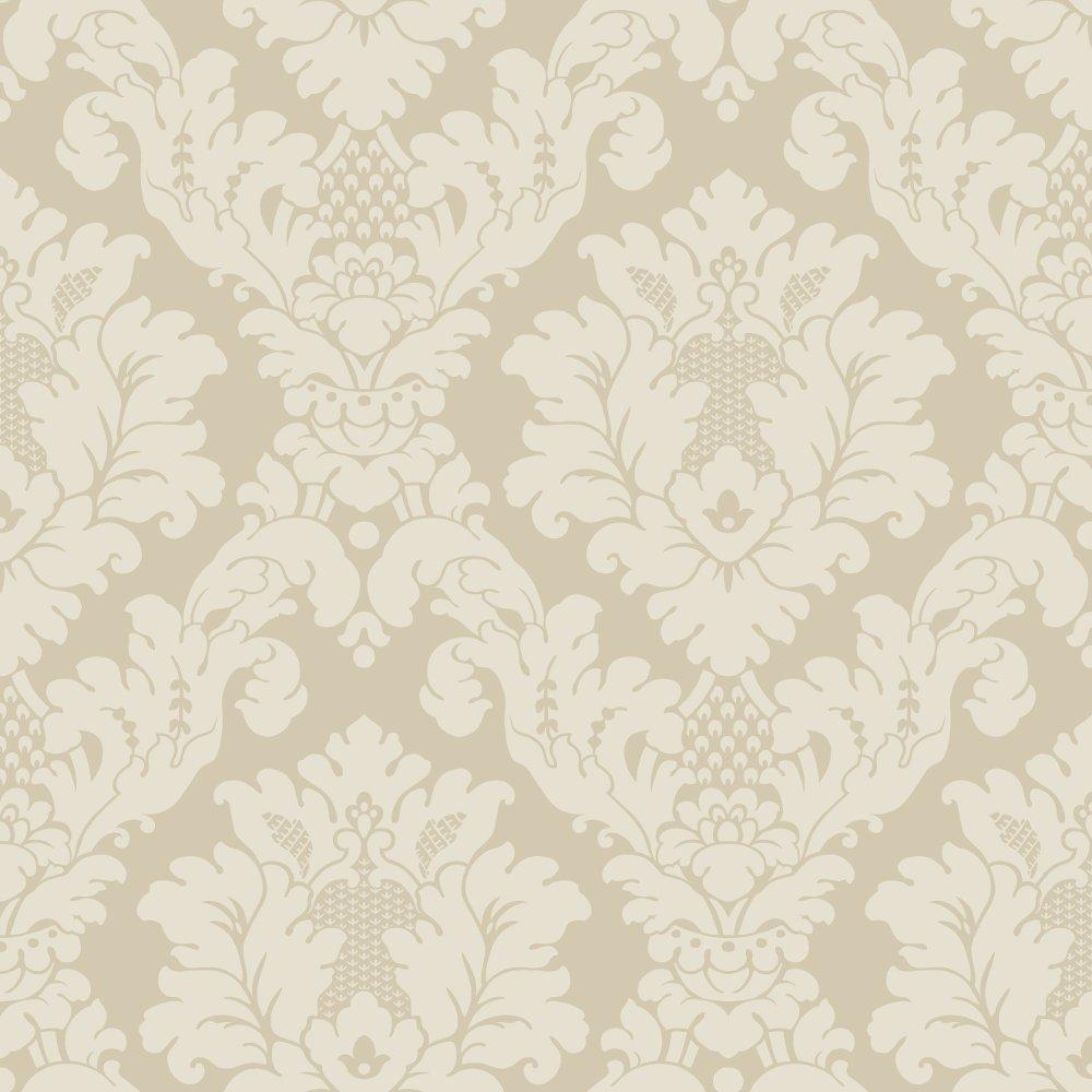 Arthouse da vinci damask pattern traditional designer for Designer wallcoverings