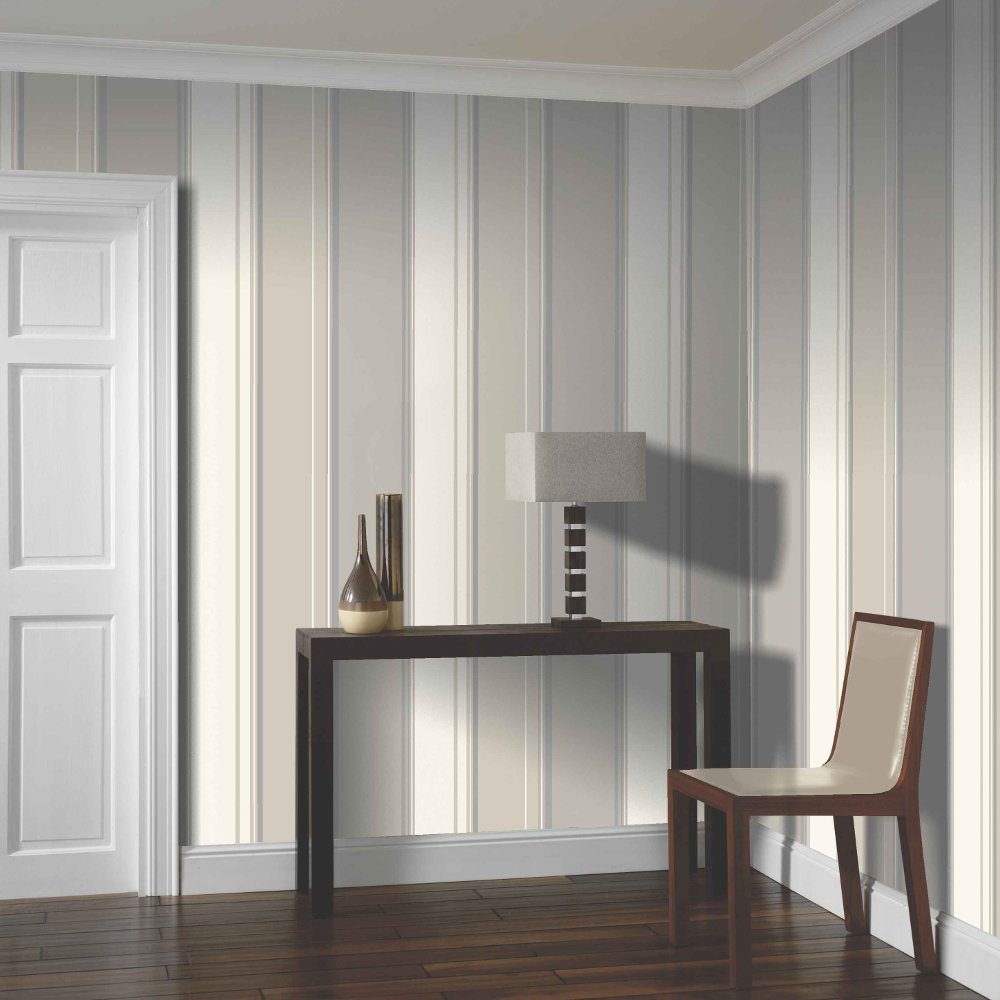 Arthouse Lorelli Stripe Motif Metallic Stripe Pattern