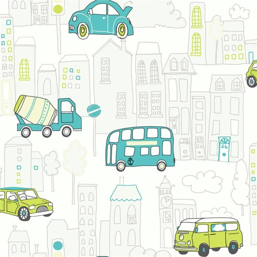 Zoom Away Vehicles Wallpaper Arthouse Cars Motorbike Boys: Arthouse Motor Mania Cars Buses Luxury Childrens Kids