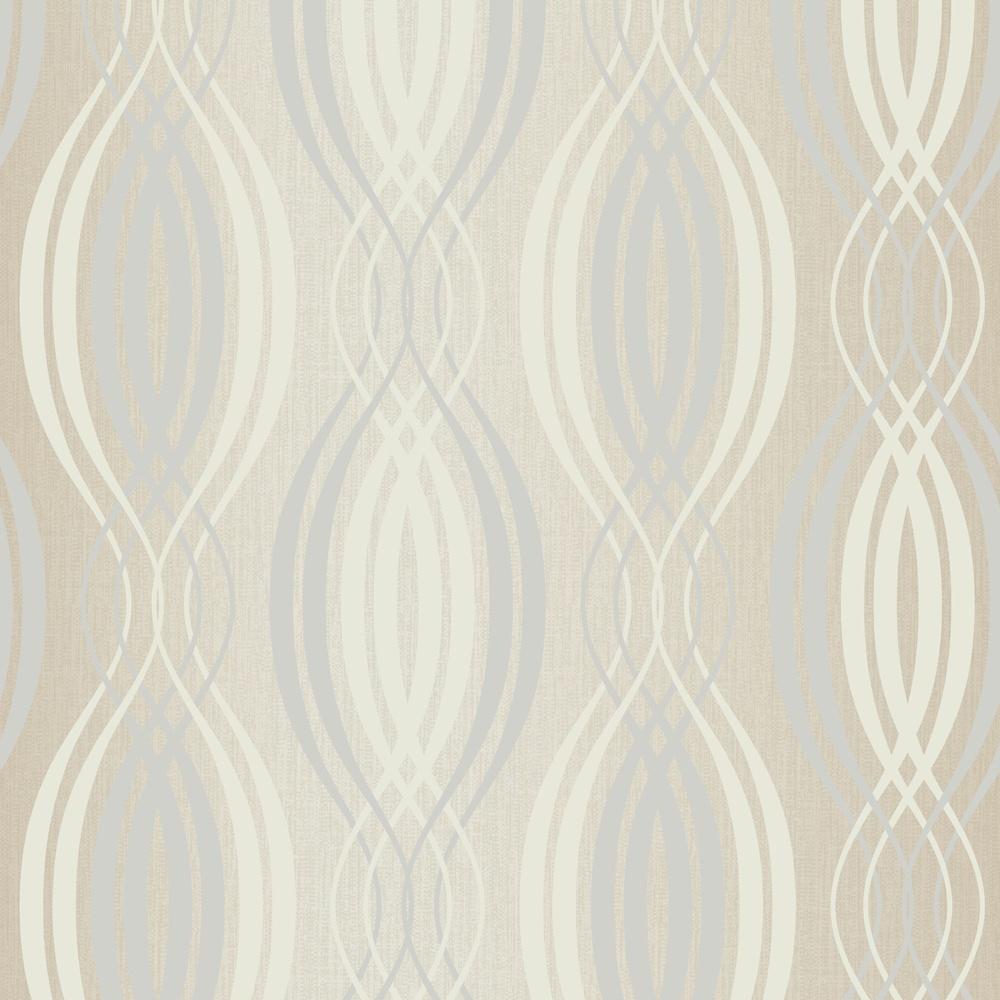 Arthouse spiral striped pattern glitter motif vinyl - Art house wallpaper uk ...