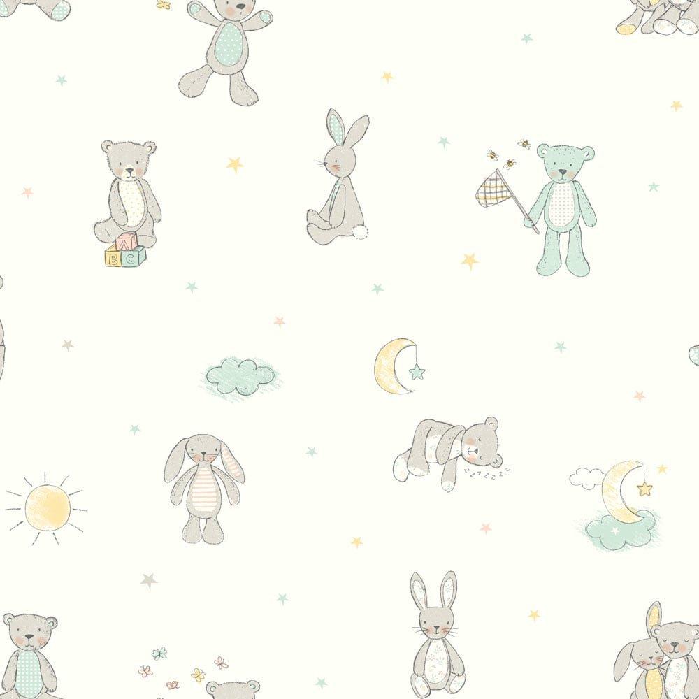 Arthouse Bear Hugs Teddy Bear Pattern ...
