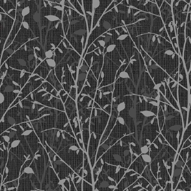 Arthouse Bosco Floral Leaf Pattern Wallpaper Metallic Glitter Motif Vinyl 291504