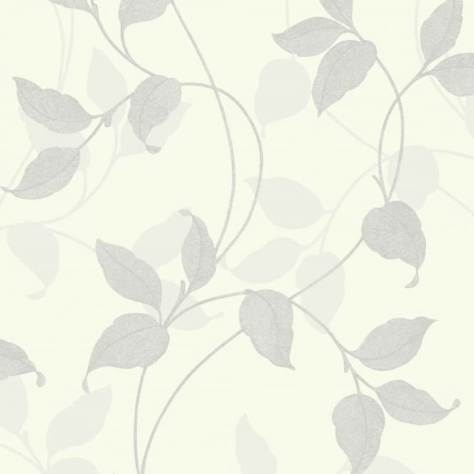Arthouse Capriata Floral Leaf Pattern Glitter Metallic Textured Wallpaper 290303