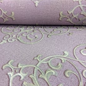 Arthouse Cardinale Damask Pattern Wallpaper Glitter Motif Textured Italian Vinyl 292300