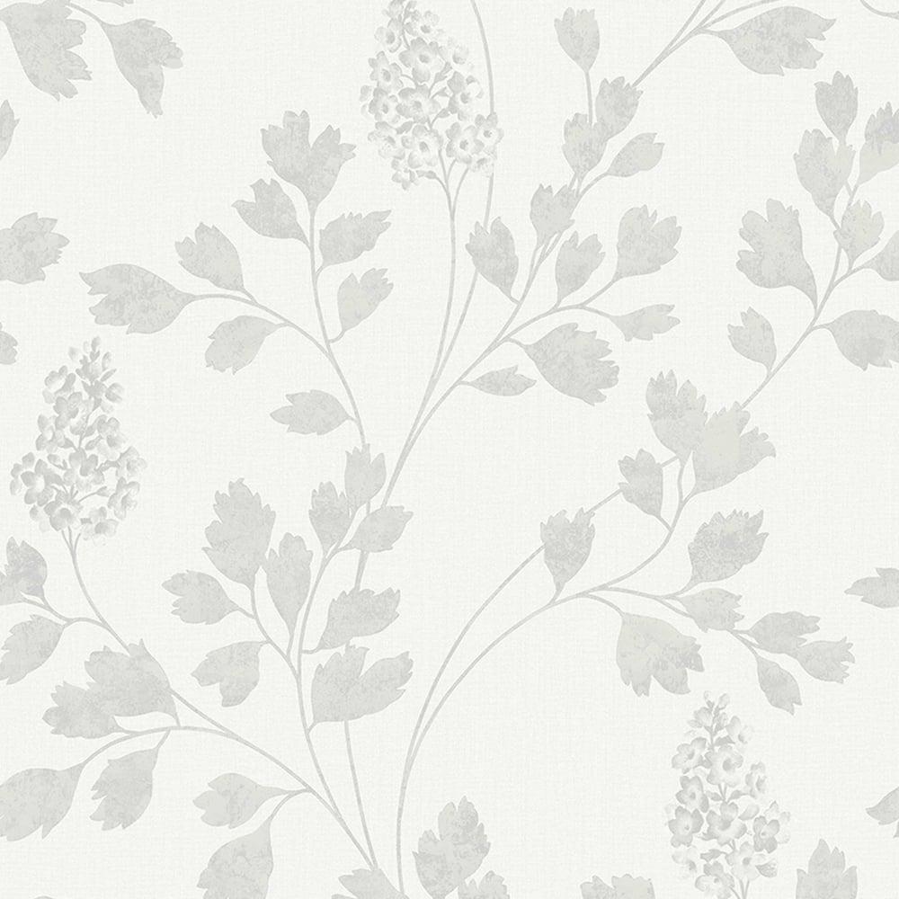 arthouse catalina floral pattern wallpaper leaf motif glitter