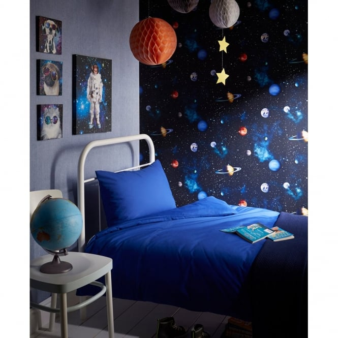 Arthouse Cosmos Space Pattern Planets Earth Childrens Wallpaper 668100
