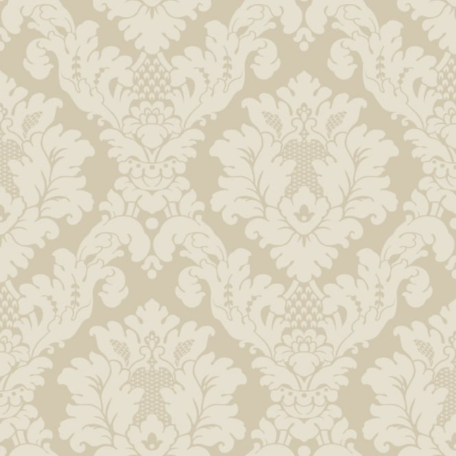 Arthouse Da Vinci Damask Motif Pattern Traditional Designer Wallpaper 405101