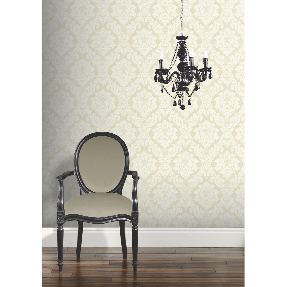 Arthouse Da Vinci Damask Pattern Traditional Designer Wallpaper 405101