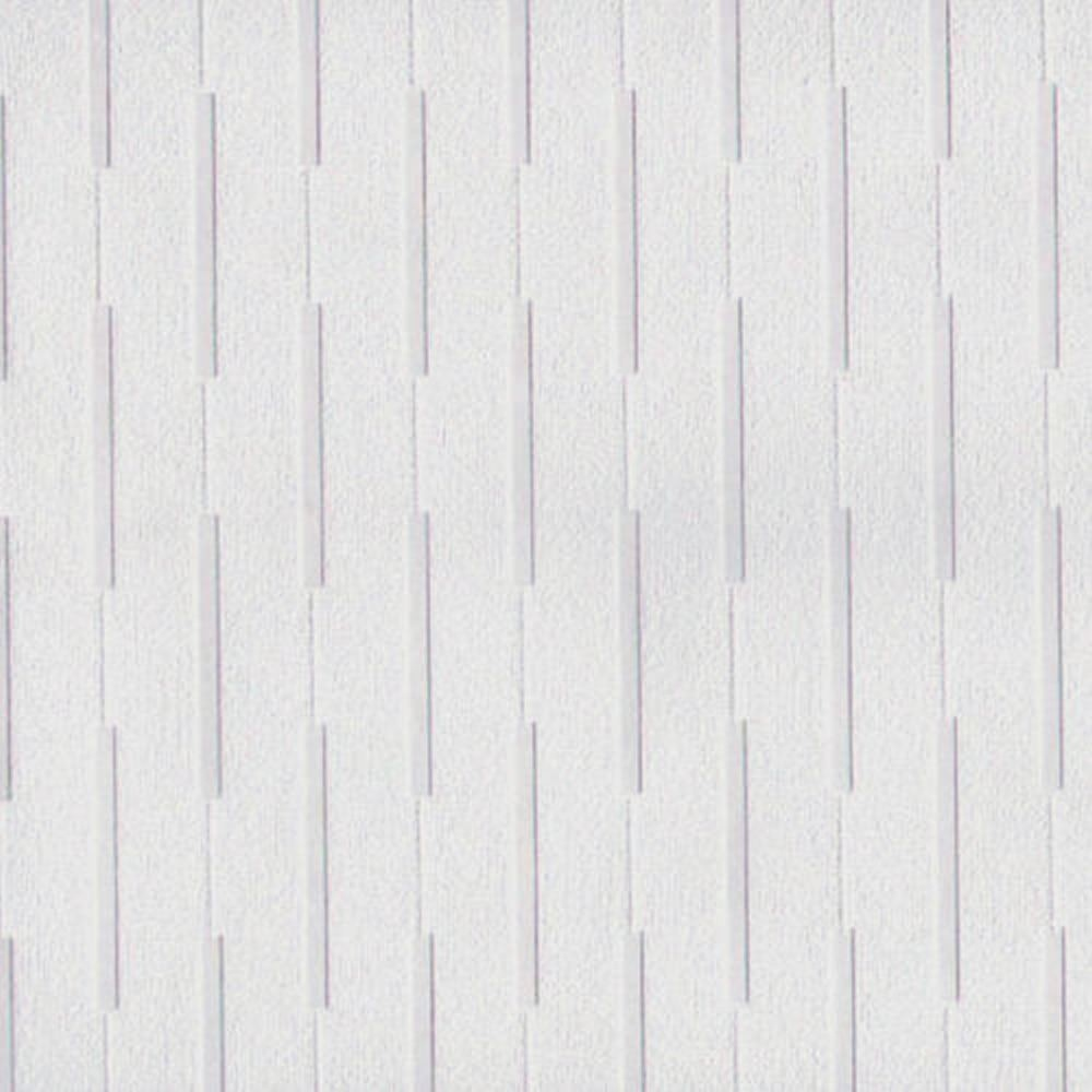 Arthouse Dash White Blown Vinyl Stripe Textured Paintable Wallpaper