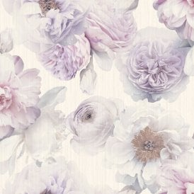 Arthouse Diamond Bloom Floral Pattern Wallpaper Rose Flower Glitter Motif Vinyl 257003