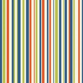 Arthouse Earn Your Stripes Striped Pattern Rainbow Childrens Wallpaper 668701