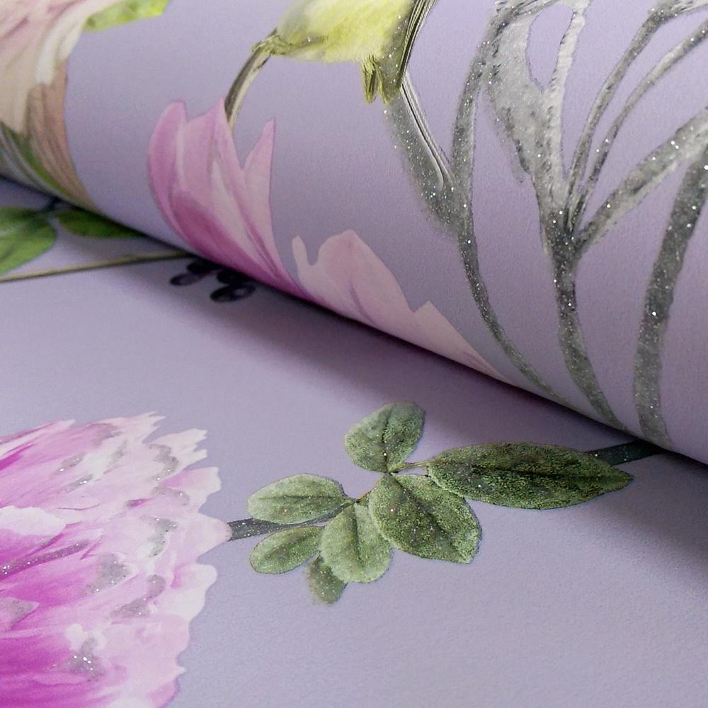 Arthouse Ella Floral Pattern Bird Rose Flower Motif