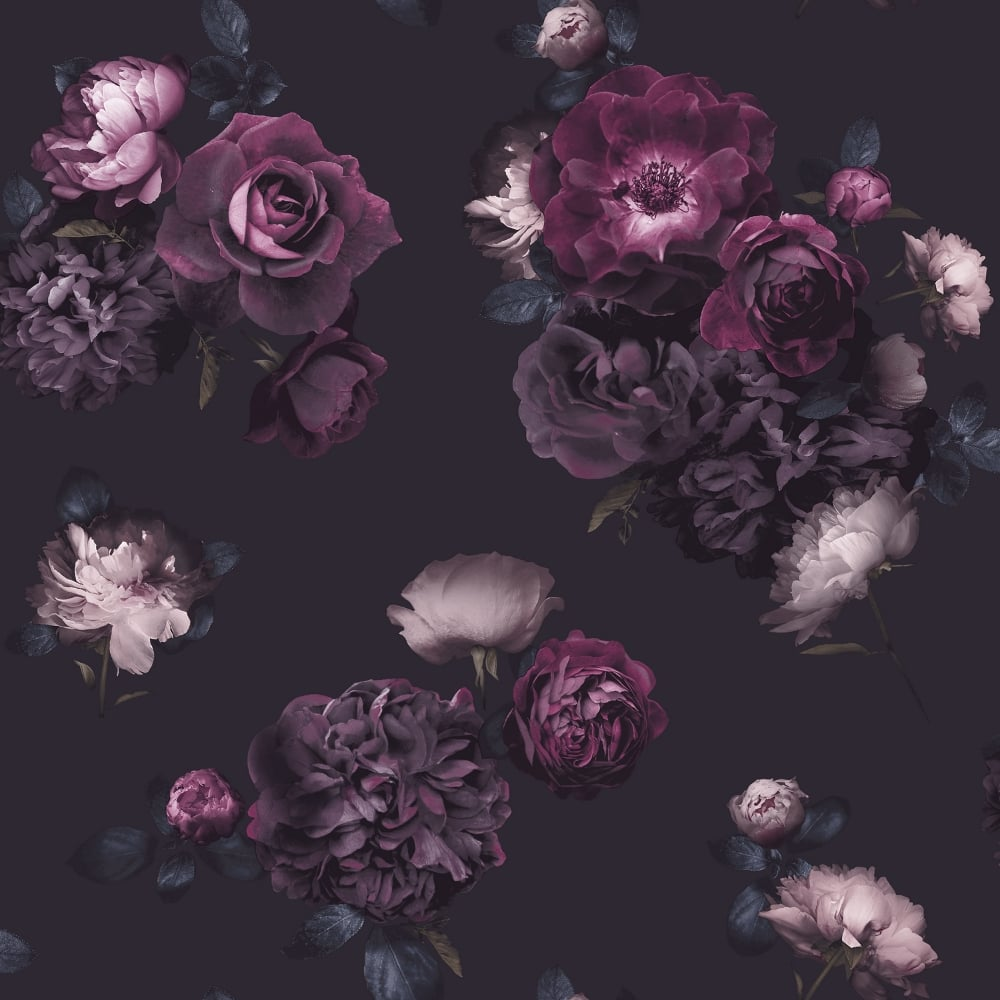 Arthouse Euphoria Floral Pattern Wallpaper Pink Rose Flower Motif 697500