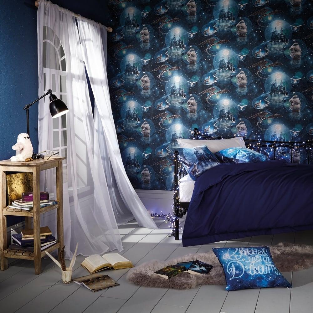 Arthouse magical kingdom fantasy pattern childrens - Art house wallpaper uk ...