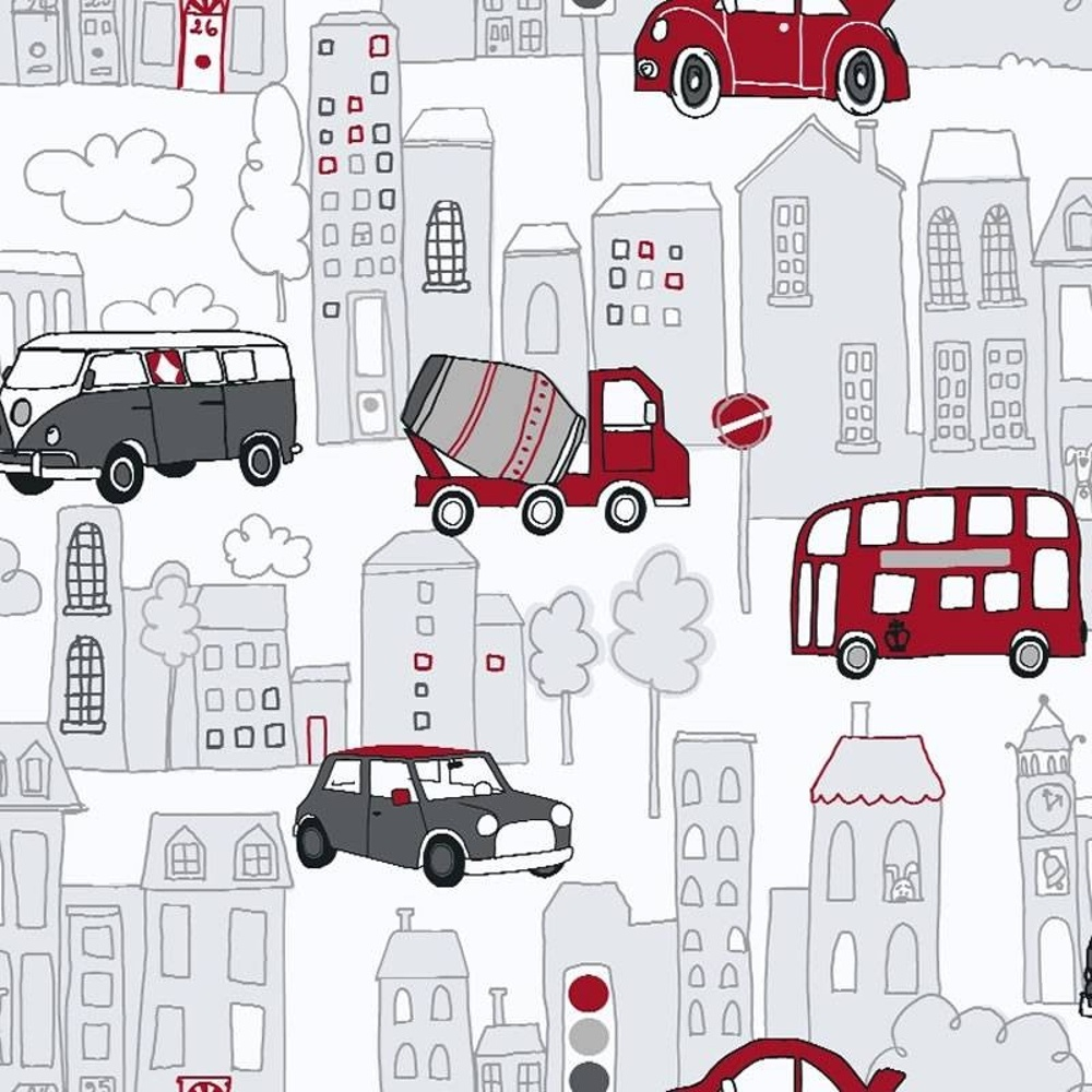 Arthouse Motor Mania Cars Buses Luxury Childrens Kids Wallpaper 533502 Red Black I Want Wallpaper