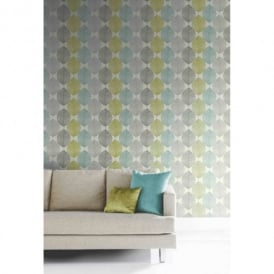 Arthouse Opera Retro Leaf Pattern Leaves Motif Designer Wallpaper 408207