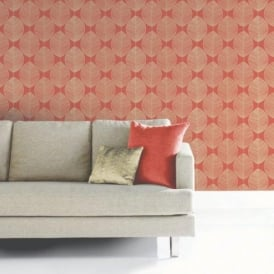 Arthouse Opera Retro Leaf Pattern Leaves Motif Designer Wallpaper 408208