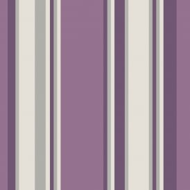 Arthouse Orla Striped Pattern Wallpaper Modern Metallic Stripe 691002
