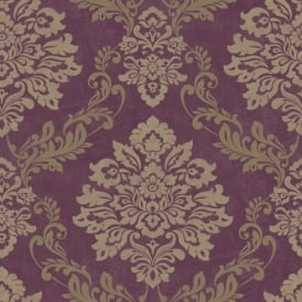 Arthouse Palazzo Damask Pattern Textured Vinyl Glitter Motif Wallpaper 290401